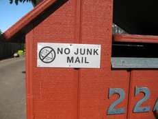 junk mail, mail, catalogs, unsolicited, advertisement, flyers, circular, val-pak, abacus, optout, creditsourceonline, do not call, donotcall list, telemarketing, saving trees, saving paper, going green, going true green