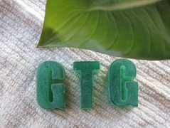 soap, natural soap, organic soap, soap formulas, going true green, going green, sustainable living, GTG Logo Soap