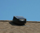 Solar, solar power, attic fan, solar attic fan, solar exhaust fan, going gree