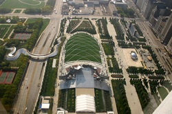 Millennium Park, Land Conservation, Green Roof, Chicago