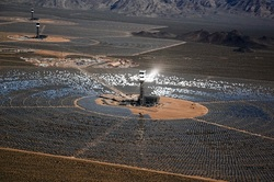 Ivanpah solar project, Ivanpah, solar power, solar energy, solar mirrors, cooking birds, scorching birds, solar electric, goingtruegreen, gtg, going green, sustainability