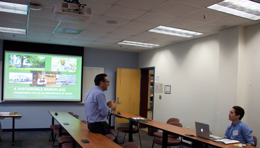 AESS, Bill Lauto, Association of Environmental Studies and Scientists, DC Conference, Going Green, Going True Green workshops, Lauto, Sustainability, Sustainability Workshop, American University, Sustainable Living, Team Work