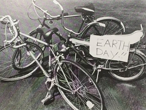 Earth Day, 50th Anniversary of Earth Day, Going Green, Going True Green, Bill Lauto, energy, saving energy, saving earth, earth, bikes, lightbulb Bill, sustainability, sustainable living