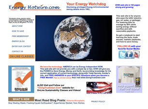 Energyhotwire, energy, Bill Lauto, light bulb hotline, CFC, sustainable website, going green, saving energy, saving money